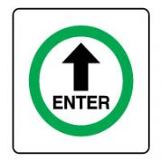 Safe Safety Sign - Enter 066
